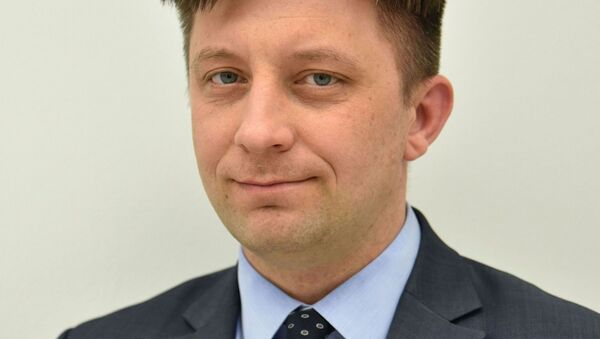 Šéf kanceláře polského prezidenta Michal Dworczyk - Sputnik Česká republika