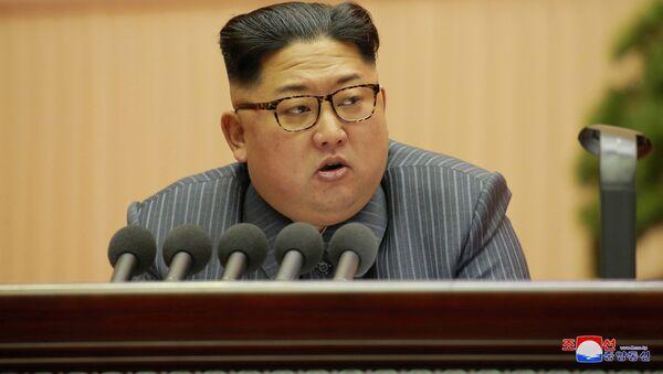 Kim Čong-un - Sputnik Česká republika