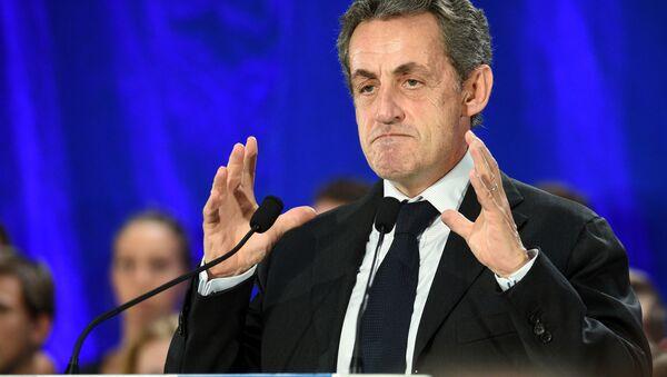 Bývalý francouzský prezident Nicolas Sarkozy - Sputnik Česká republika
