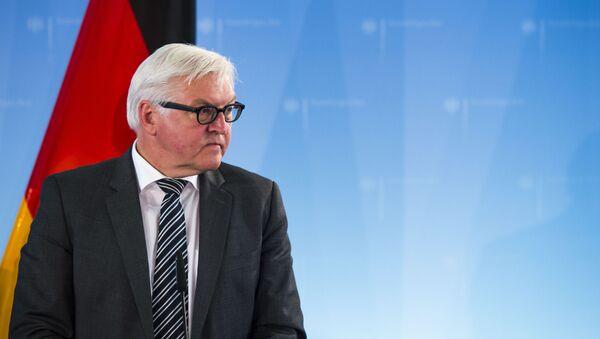 Německý ministr zahraničí Frank-Walter Steinmeier - Sputnik Česká republika