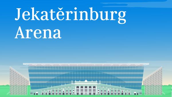 Jekatěrinburg Arena - Sputnik Česká republika