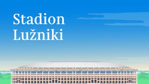 Stadion Lužniki - Sputnik Česká republika