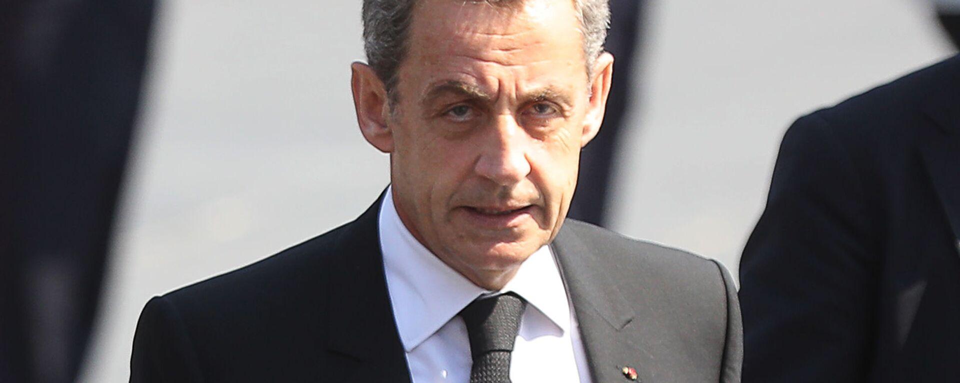 Bývalý francouzský prezident Nicolas Sarkozy. Ilustrační foto - Sputnik Česká republika, 1920, 11.04.2018
