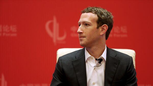 Mark Zuckerberg - Sputnik Česká republika