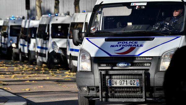 Auta francouzské policie - Sputnik Česká republika