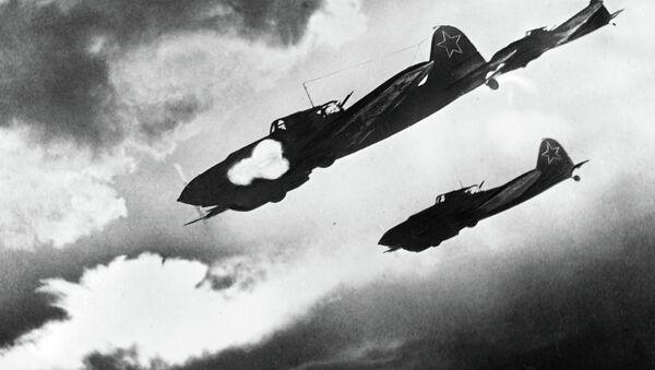 Bitevní letadlo IL-2 - Sputnik Česká republika