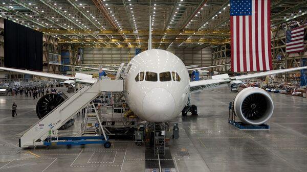 Letadlo Boeing-787 Dreamliner - Sputnik Česká republika