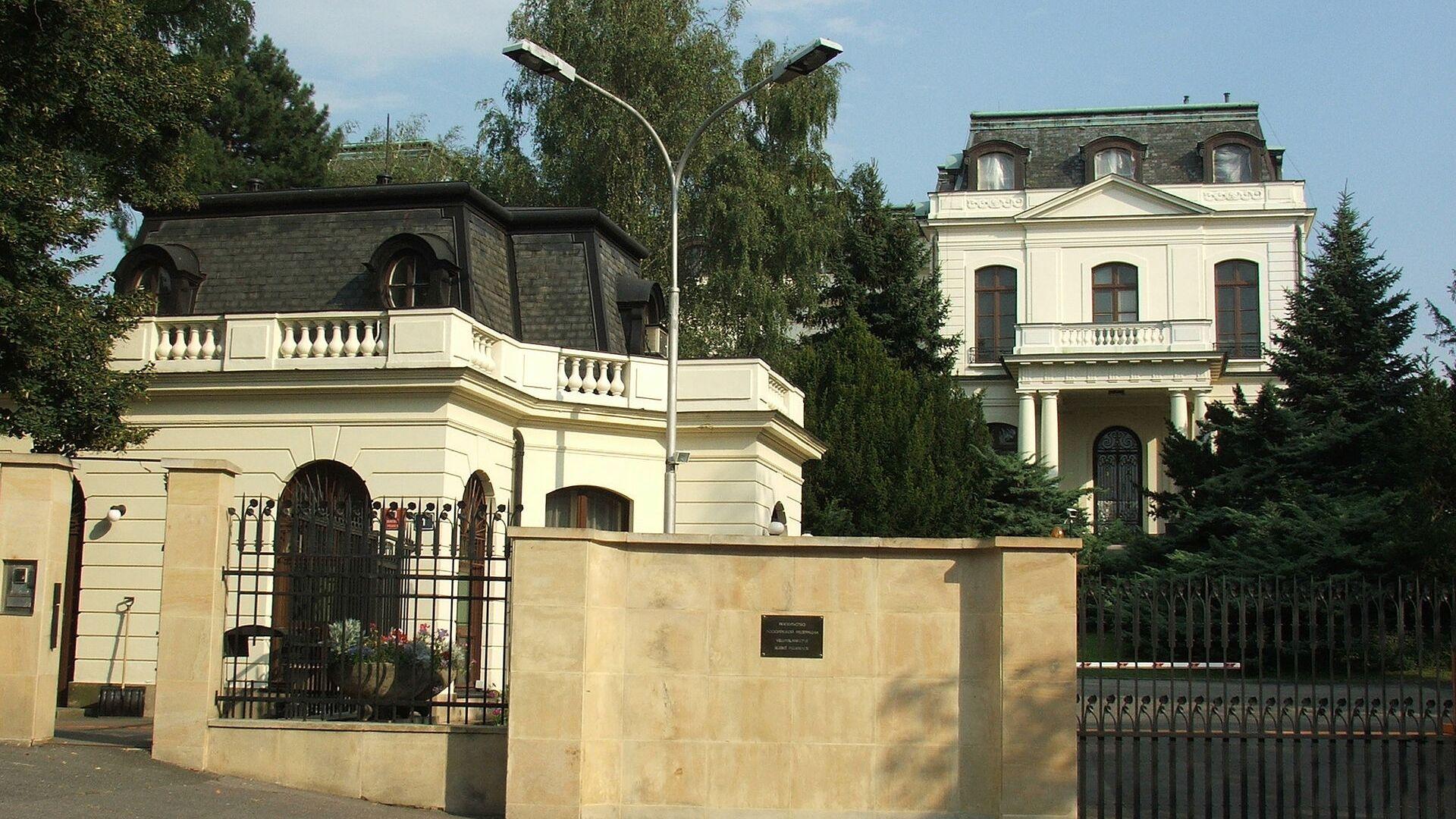 Ruské velvyslanectví v Praze - Sputnik Česká republika, 1920, 19.04.2021