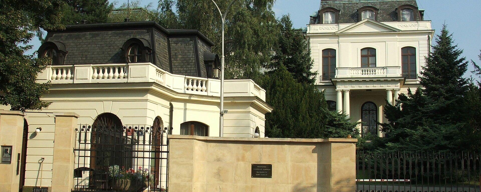 Ruské velvyslanectví v Praze - Sputnik Česká republika, 1920, 31.08.2021