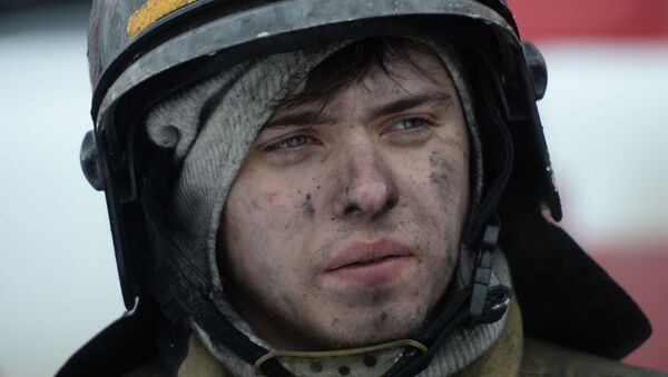 Požár v Kemerovo - Sputnik Česká republika