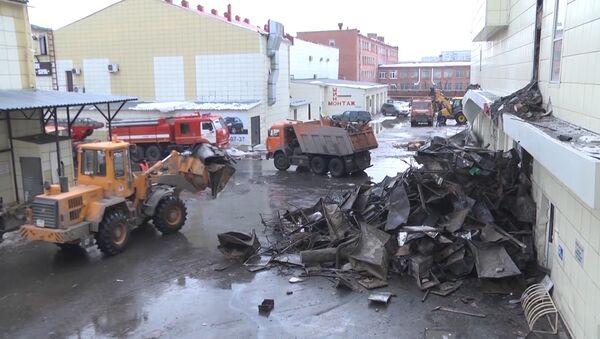 Požár v Kemerovu očima svědků - Sputnik Česká republika