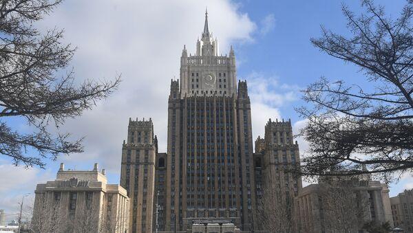 Budova MZV Ruska v Moskvě - Sputnik Česká republika