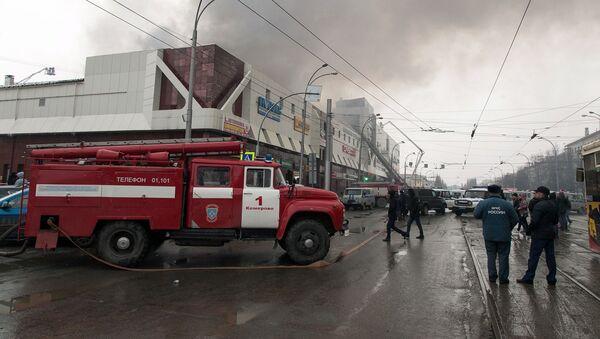 Požár v Kemerovu - Sputnik Česká republika