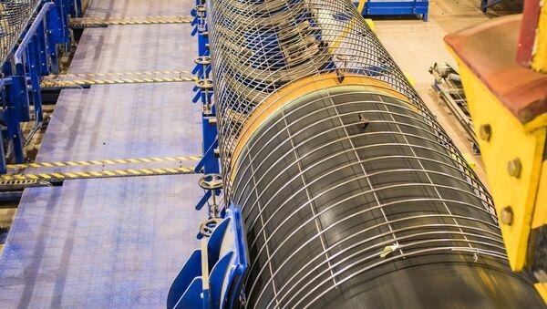 Potrubí pro plynovod Severní proud 2 - Sputnik Česká republika