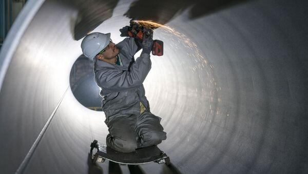 Potrubí pro Severní proud - Sputnik Česká republika
