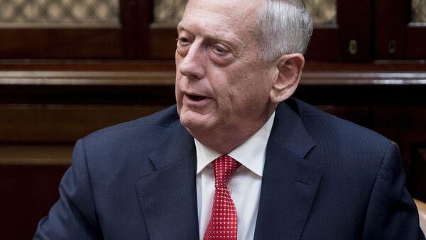 Šéf Pentagonu James Mattis - Sputnik Česká republika