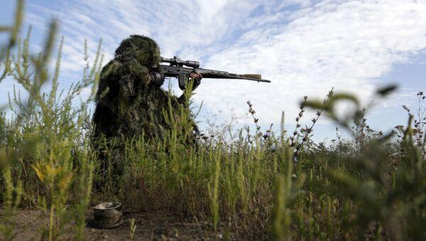 Ukrajinský odstřelovač, archivní foto - Sputnik Česká republika