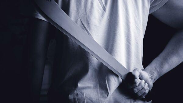 Můž s mačetou - Sputnik Česká republika