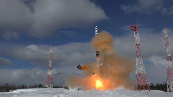 Zabiják protiraketové obrany: v Plesecku vyzkoušeli raketu Sarmat - Sputnik Česká republika