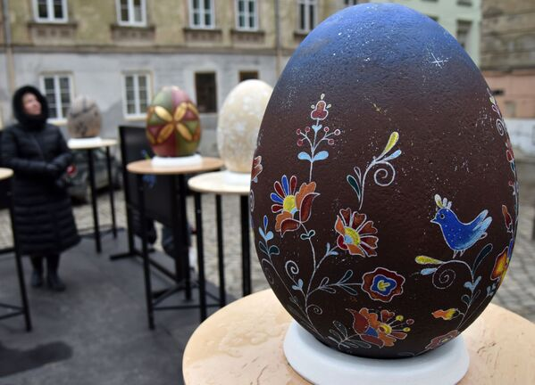 Velikonoce: Neobyčejný festival s velikonočními vejci - Sputnik Česká republika