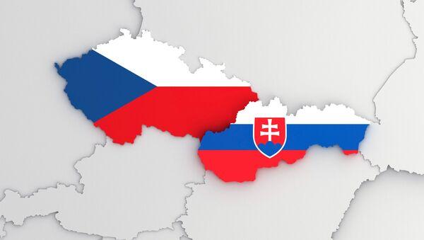 Česko a Slovensko na mapě - Sputnik Česká republika