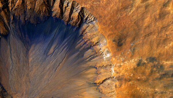 Povrch Marsu - Sputnik Česká republika