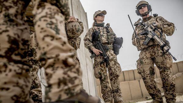 Vojáci Bundeswehru. Ilustrační foto - Sputnik Česká republika
