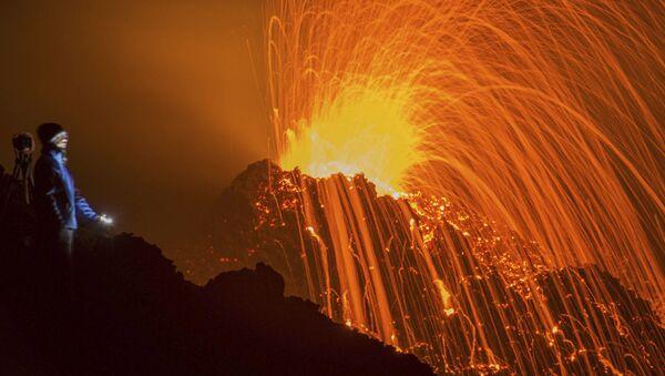 Sopečná erupce - Sputnik Česká republika