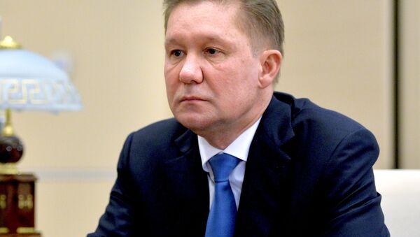Ředitel Gazpromu Alexej Miller - Sputnik Česká republika