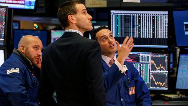 Tradeři na burze v New Yorku - Sputnik Česká republika
