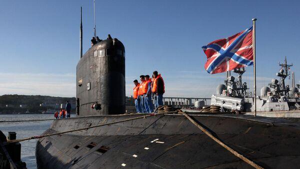Ponorka projektu 636 Varšavjanka - Sputnik Česká republika