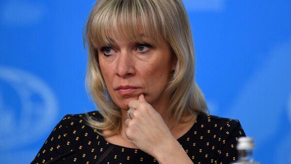 Oficiální mluvčí ruského ministerstva zahraničí Maria Zacharovová - Sputnik Česká republika