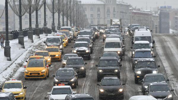 Doprava v Moskvě. Ilustrační foto - Sputnik Česká republika