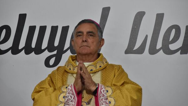 Biskup Salvador Rangel Mendoza - Sputnik Česká republika