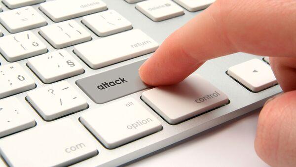 Tlačítko útoku na klávesnici - Sputnik Česká republika