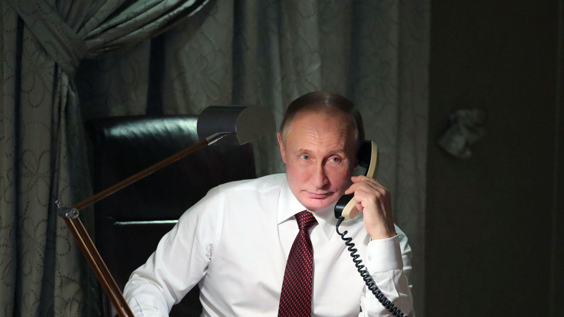 Ruský prezident Vladimir Putin - Sputnik Česká republika, 1920, 13.04.2021