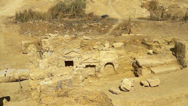 Archeologické vykopávky v Západní poušti Egypta - Sputnik Česká republika