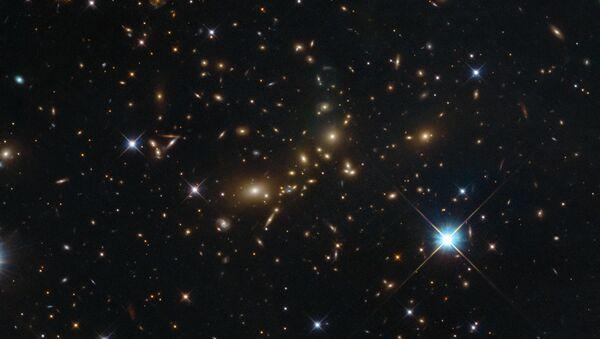Seskupení galaxií PLCK G308.3-20.2 v souhvězdí Rajky - Sputnik Česká republika