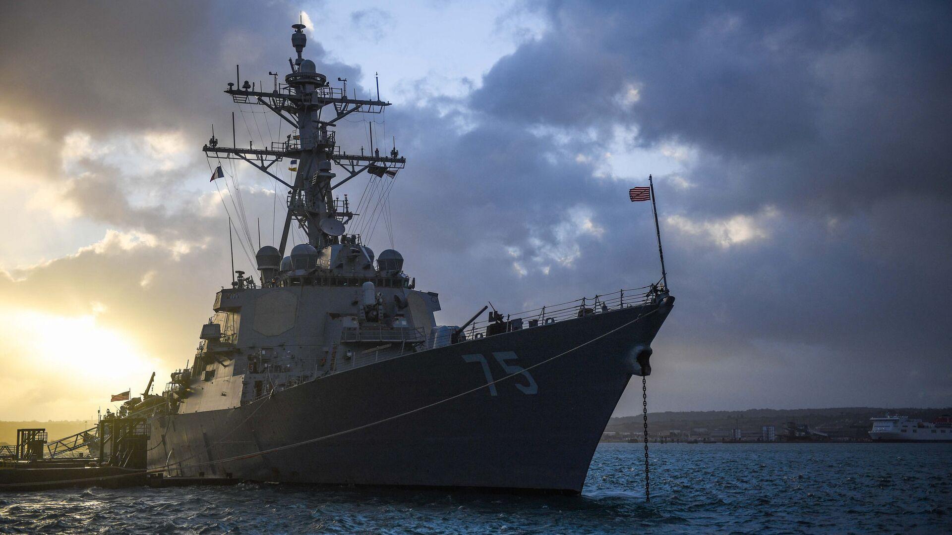 Torpédoborec USS Donald Cook - Sputnik Česká republika, 1920, 30.09.2021