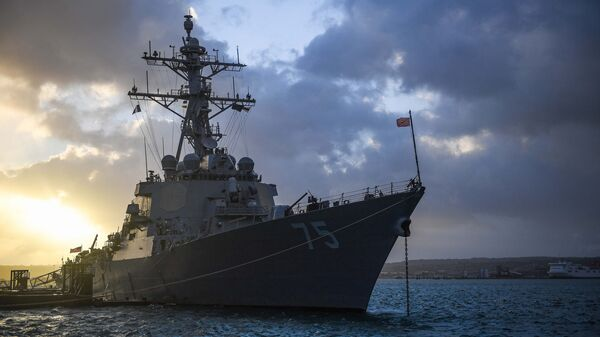 Torpédoborec USS Donald Cook - Sputnik Česká republika