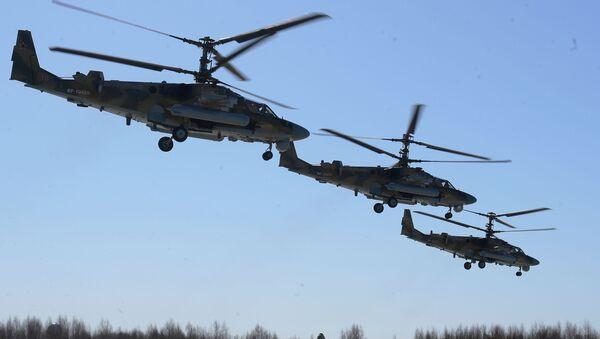 Vrtulník Ka-52 Alligator - Sputnik Česká republika