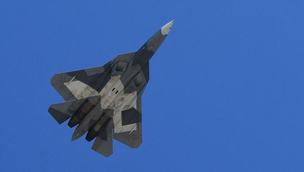 Vícefunkční stíhačka Su-57 - Sputnik Česká republika