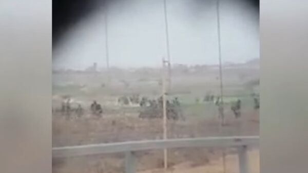 Izrael potvrdil, že video střelby odstřelovače na neozbrojeného Palestince je pravé - Sputnik Česká republika