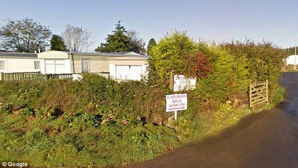 Farma Parsonage a Caravan Park, které vlastnil milionář Wynford Hodge - Sputnik Česká republika