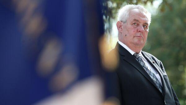 Czech Republic President Milos Zeman - Sputnik Česká republika