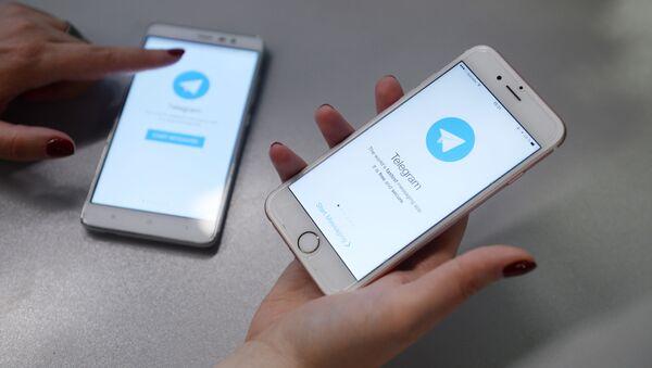 Aplikace Telegram - Sputnik Česká republika