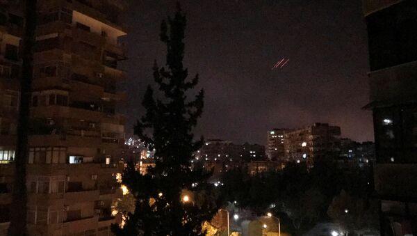 Útok USA na Sýrii. - Sputnik Česká republika