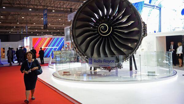 Letadlový motor Rolls-Royce - Sputnik Česká republika