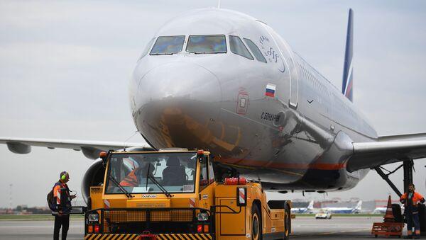 Letaldo na letišti Šeremetěvo - Sputnik Česká republika