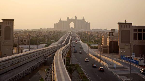 Вид на Палм Джумейра в Дубае - Sputnik Česká republika